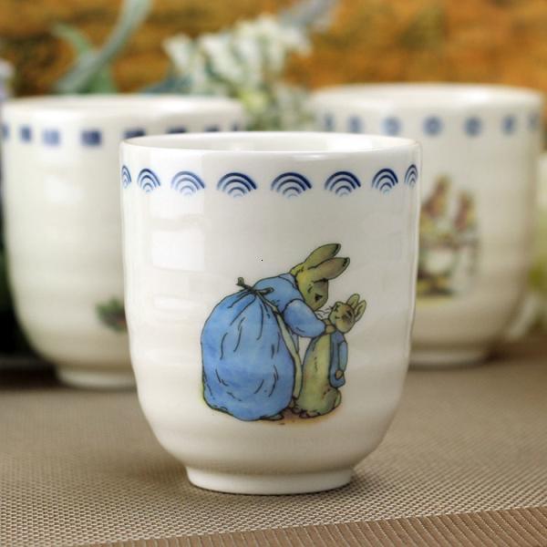 Peter Rabbit Mug Cute Zakka Cartoon Ceramic Coffee Wate Milk Juice Cup for Home Office School Shop Travel Drinkware Gift