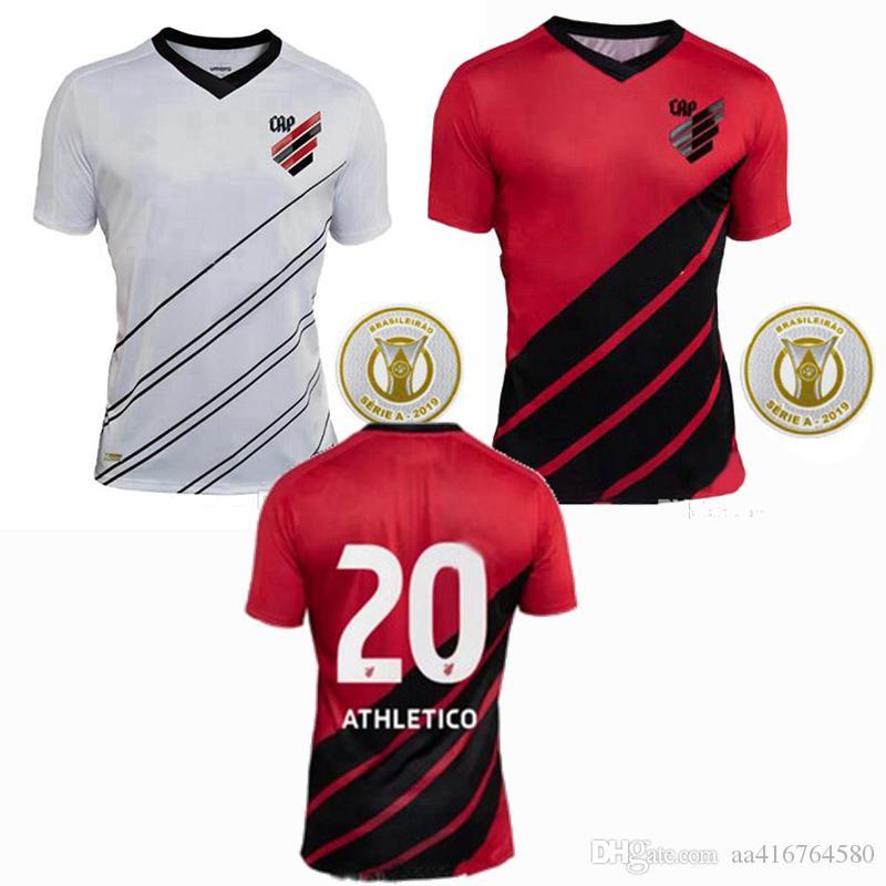 19 20 اتلتيكو باراناينسي كرة القدم جيرسي المنزل بعيدا 2019 2020 لكرة القدم قميص S-2XL