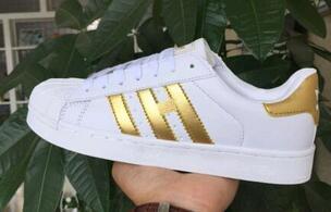 Sıcak Satış-Casual ayakkabılar Superstar smith stan Kadın Düz Ayakkabı Kadınlar Zapatillas DEPORTIVAS Mujer Aşıklar Sapatos Femininos