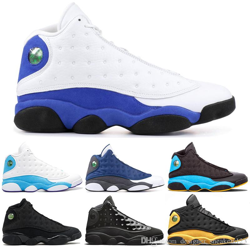 new product 428a2 1a9d5 2019 AirJordanRetro 13 Bred Chicago Flint Atmosphere Grey Mens Basketball  Shoes 13s Cap And Gown He Got Game Dirty Bred Sneakers From ...