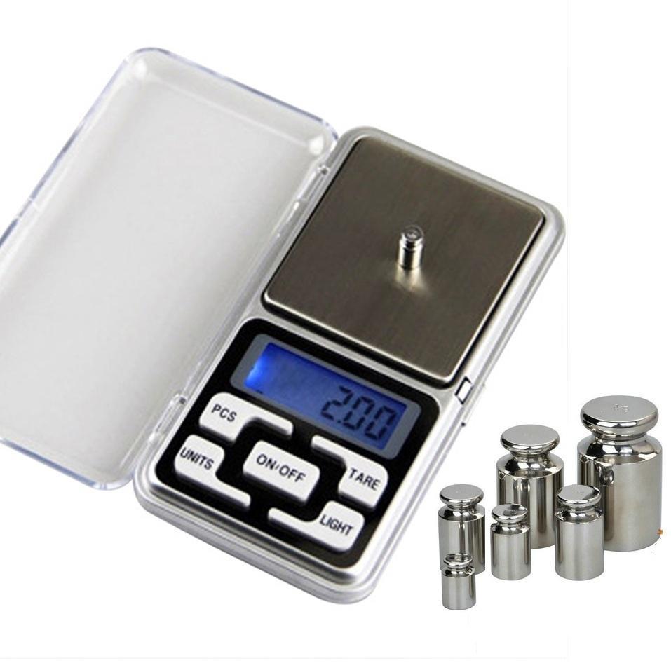 Balança digital de bolso para jóias de prata de ouro esterlina escalas balança eletrônica balança grama