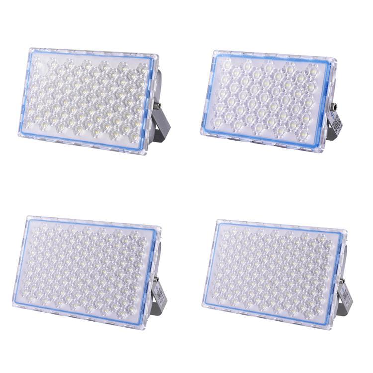 SMD3030 LED FLUYALLALÍFICA IP66 WATERPROO 200W 100W Super brillante Luces de seguridad 5000K-5500K Luz de inundación AC85V-265V Crestech