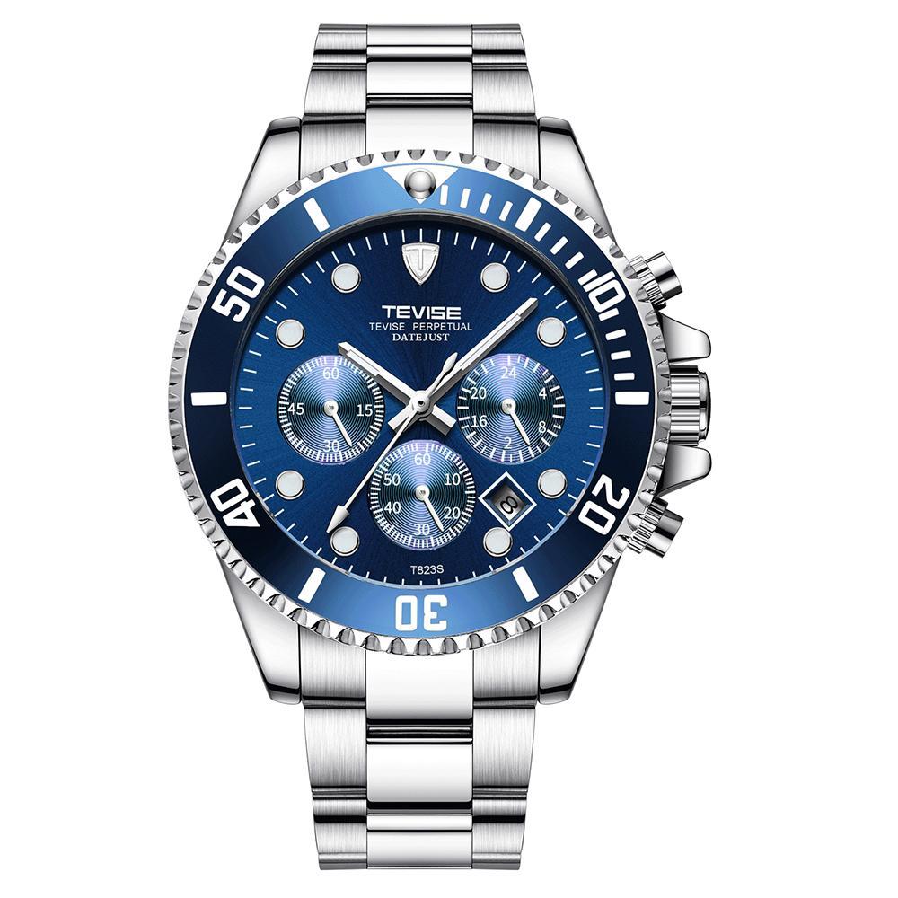 Relógio Mecânico relógios de quartzo Relógio Esporte T823 Brand Watch homens homens de aço inoxidável relógio Relógio Masculino para o presente
