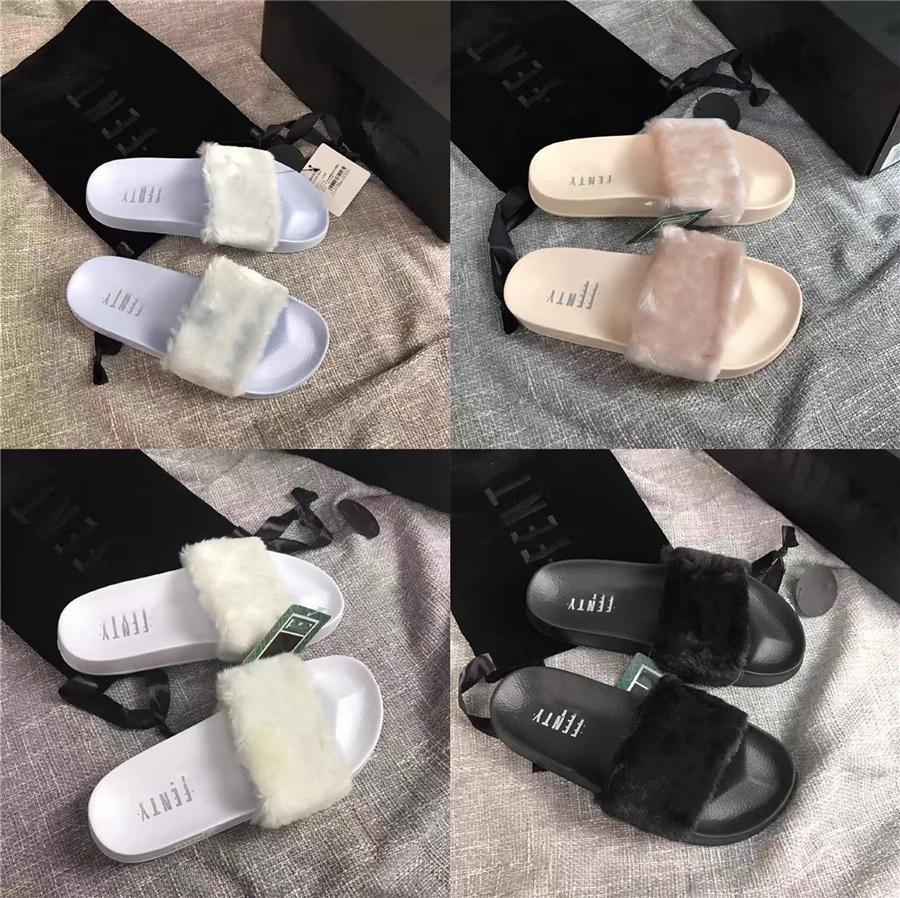 È estate donne Coppia Pelle di Mucca Sandali Nero Skull Designer Pantofole Donne Slides Indoor Home pattini flip-flop grande formato 45 Y20010 # 861
