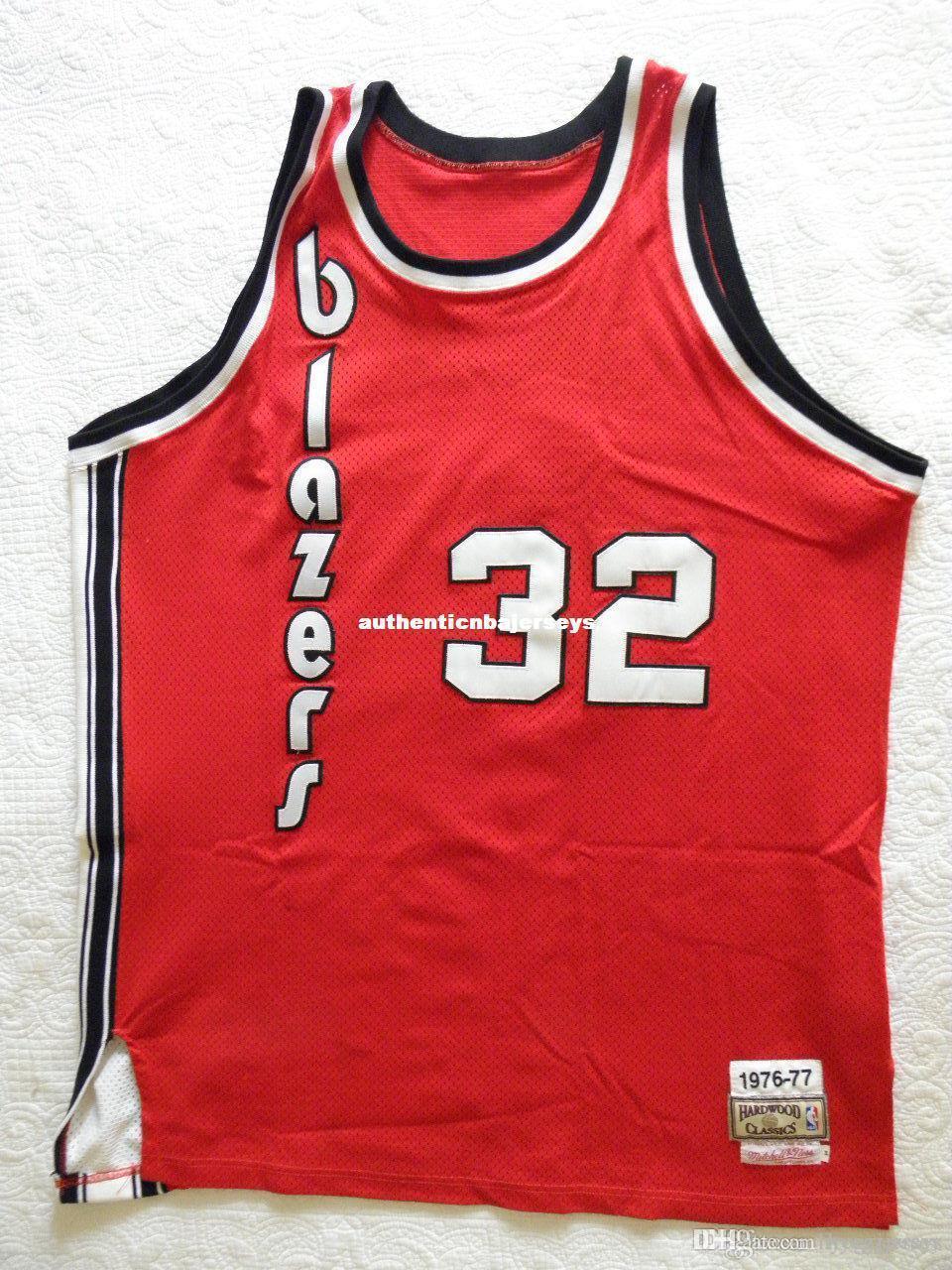 Mitchell Ness MN pas cher Bill Walton Retro # 32 Jersey Mens veste taille XS-6XL Cousu basket-ball Maillots Ncaa