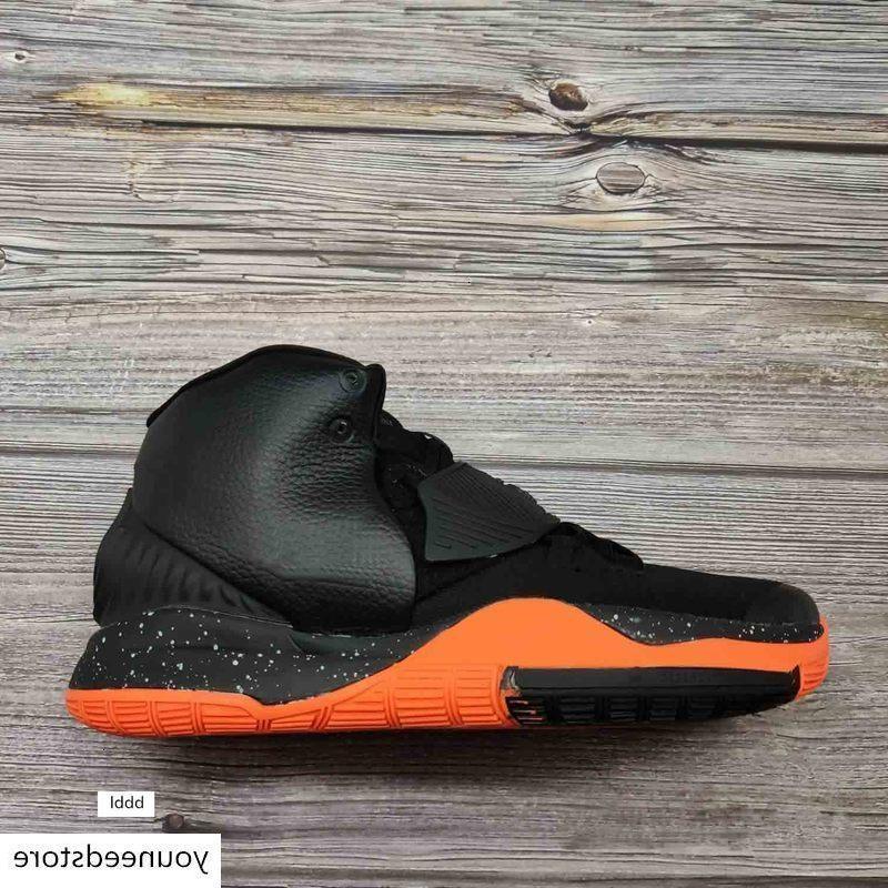 2019 Nova Kyrie Black Magic VI 6 KI6 Mens tênis de basquete Irving 6S Zoom Esporte formação Sneakers alta tornozelo Tamanho 40-46