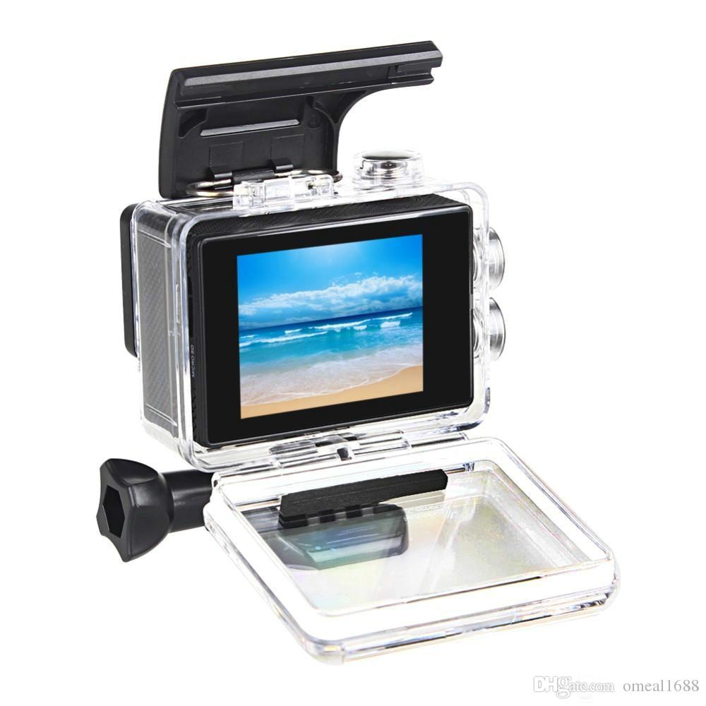 Su geçirmez 30M DV Kayıt Mini Sking Bisiklet Fotoğraf Video Cam Altında SJ4000 1080P Full HD Eylem Dijital Spor Kamera 2 inç ekran