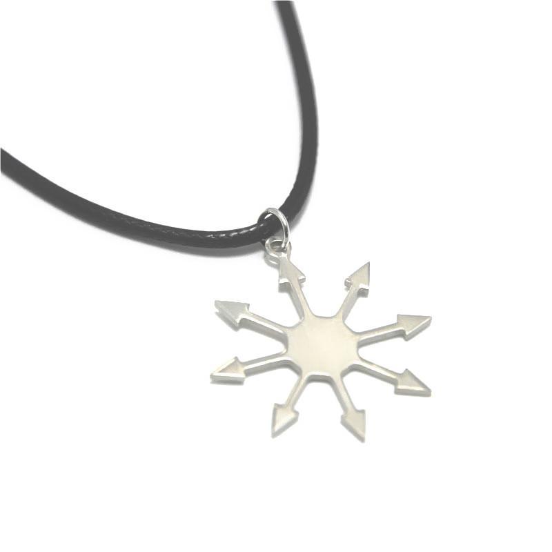 5pcs Star of Chaos Pendant Emblem Amulet Talisman Arms of Chaos Sign Charm 25mm
