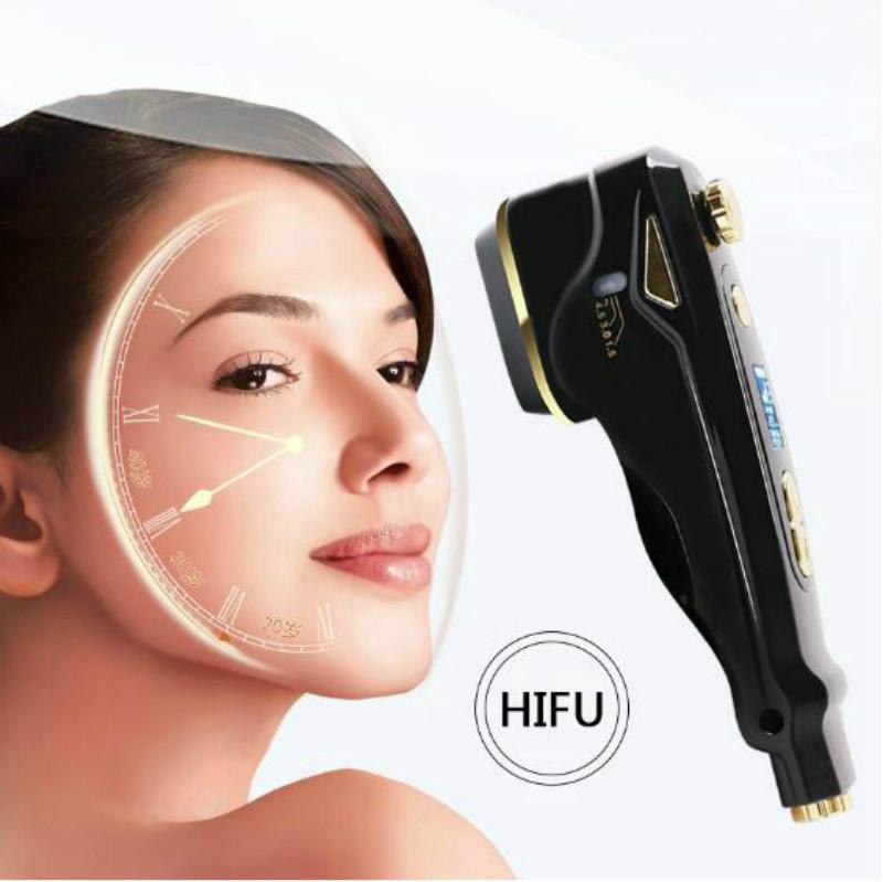 효과적인 HIFU 가정 사용을 위한 초음파용 RF 노화 피부 드는 얼굴 배려는 기계를 집중된 초음파 피부 회춘 주름 장치