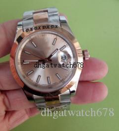 Luxus Top Herrenuhr Automatik 2813 Uhren Rose Gold Men 126303 Champagne Datejust Armbanduhr Uhren automatisches mechanisches Ursprüngliche