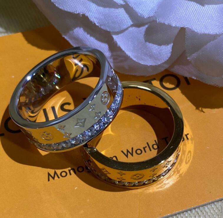 Роскошный дизайнер ювелирных изделий полые V письмо кольцо тенденции моды большой бренд из розового золота 18 карат золота совершенно новый дизайнер высокого качества