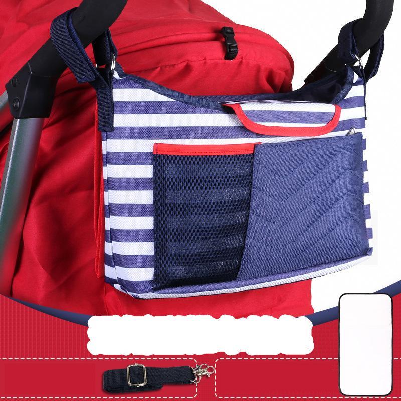 2 colori sacchetto della mummia di immagazzinaggio per Baby Stuff Passeggino accessori Diaper Bag bottiglia di latte isolamento Borse Baby Care Crossbody