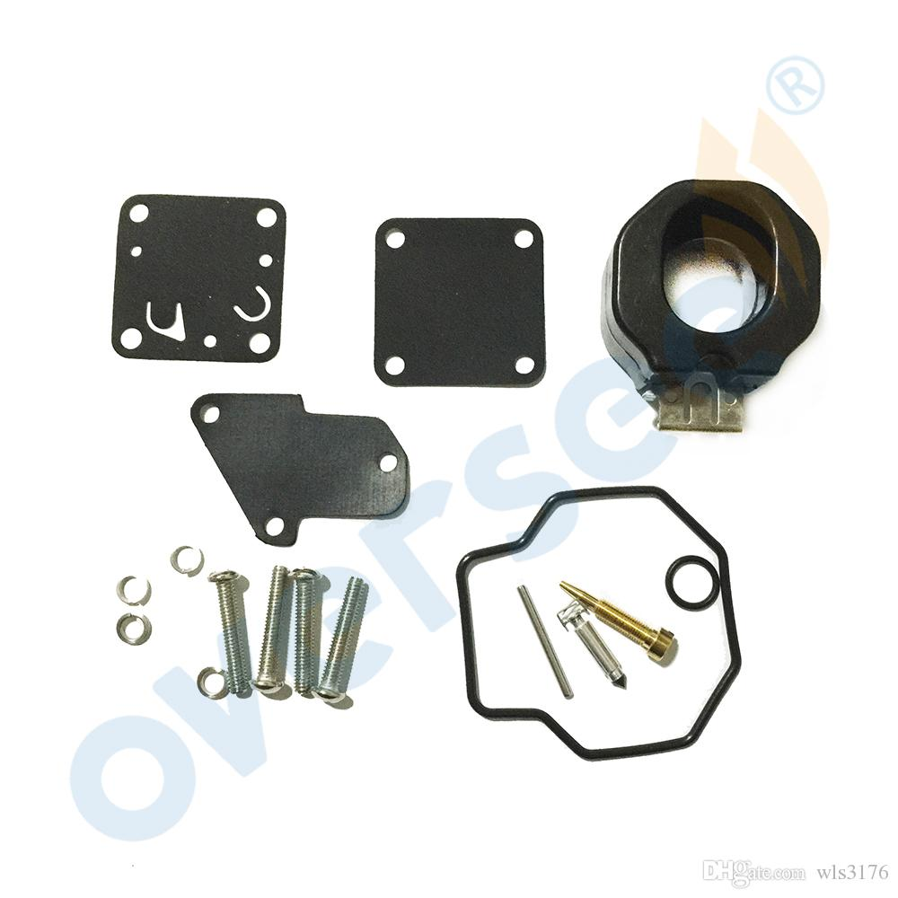 Oversee OEM Carburetor Repair Kit 6E0-W0093-00-00 suits for YAMAHA 4HP 5HP Outboard Spare Engine Parts Model