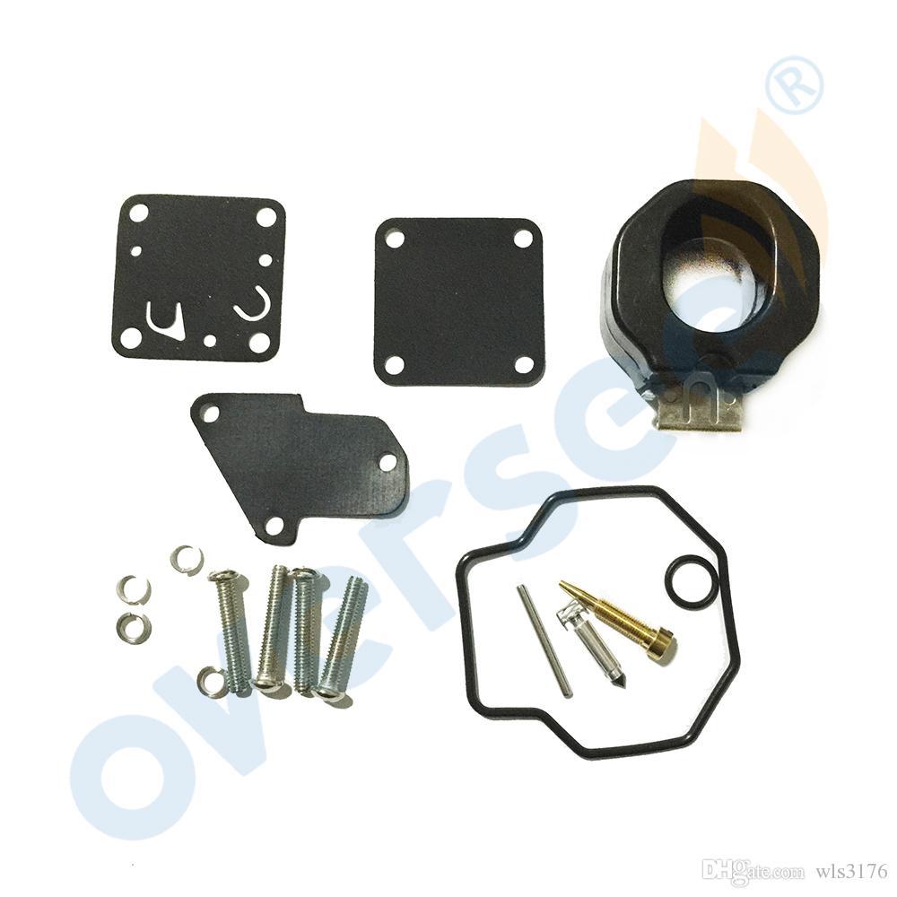 Réparation OEM Carburateur Kit Supervise costumes 6E0-W0093-00-00 pour YAMAHA 4HP 5HP de rechange Modèle Outboard Pièces moteur
