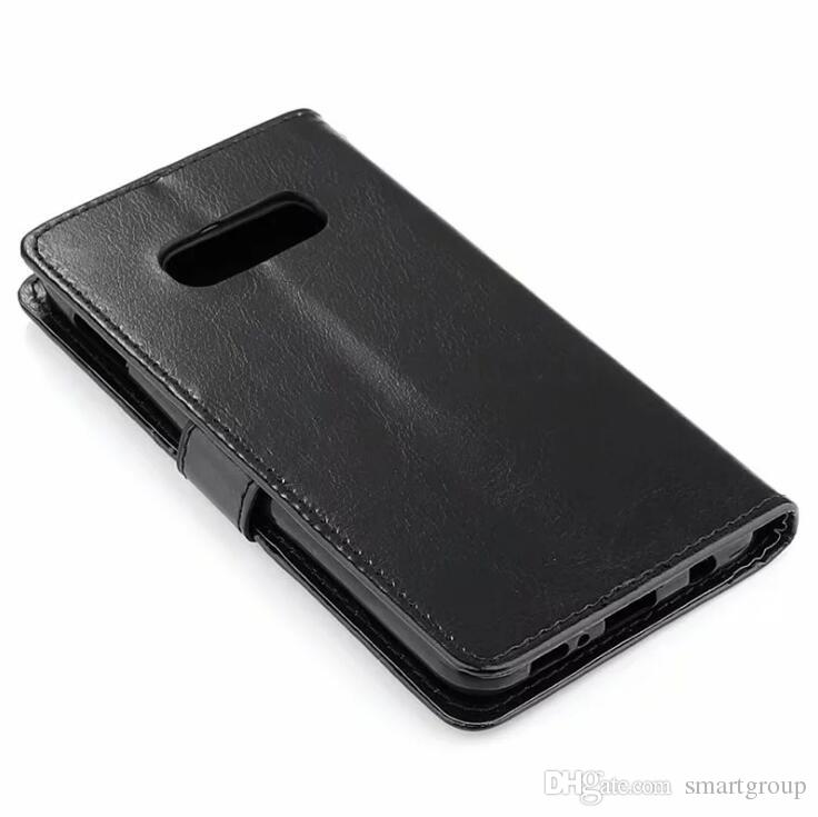 For Samsung Galaxy S10 Case Cover Luxury Original 2019 Hard Flip Protective Phone Wallet Purse Leather Case For Samsung Galaxy S10