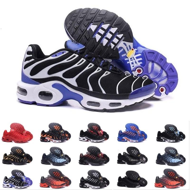 Top Fashion Chaussure Tn Além disso executando sapatos para homens externas Triplo preto branco dos homens Trainers Caminhadas Sports Atlético Sneakers Eur 40-46