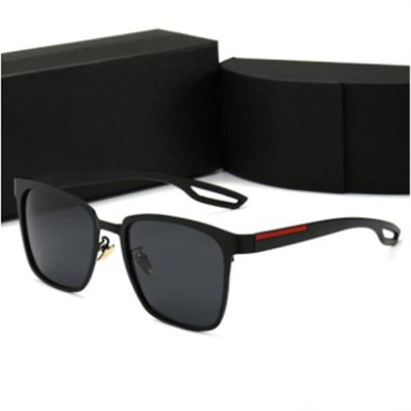 Erkekler Kadın Adumbral Gözlük UV400 P0120 6 Renk Gözlüğü Ayna Güneş Sürüş Güneş Box ile yüksek kalite