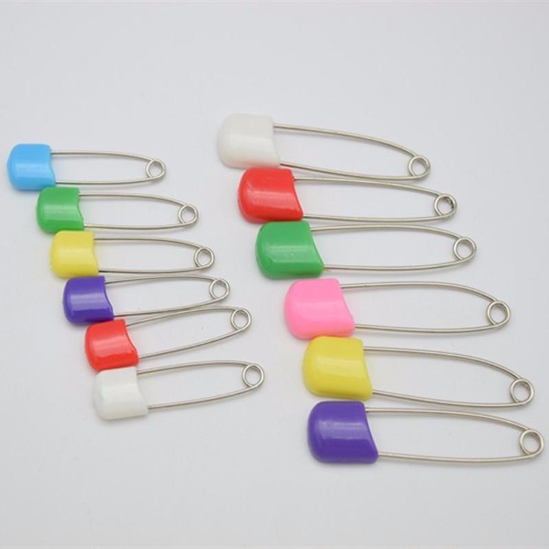 40 мм 55 мм детские пеленки булавки красочные пластиковые безопасности глава Оптовая много