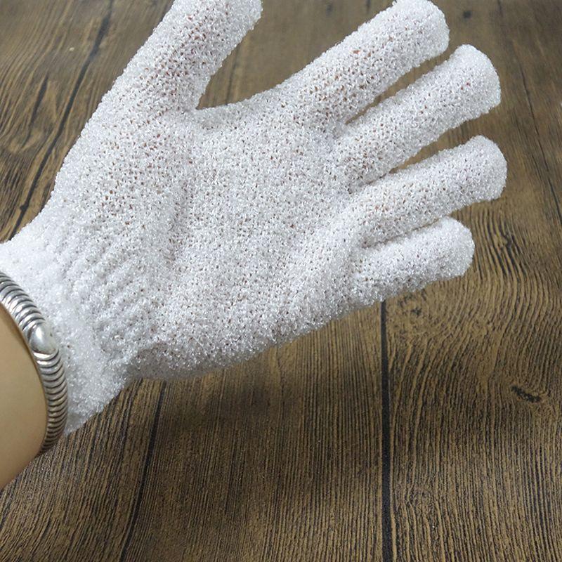 Guantes de baño Exfoliante de ducha Exfoliante corporal Masaje con esponja