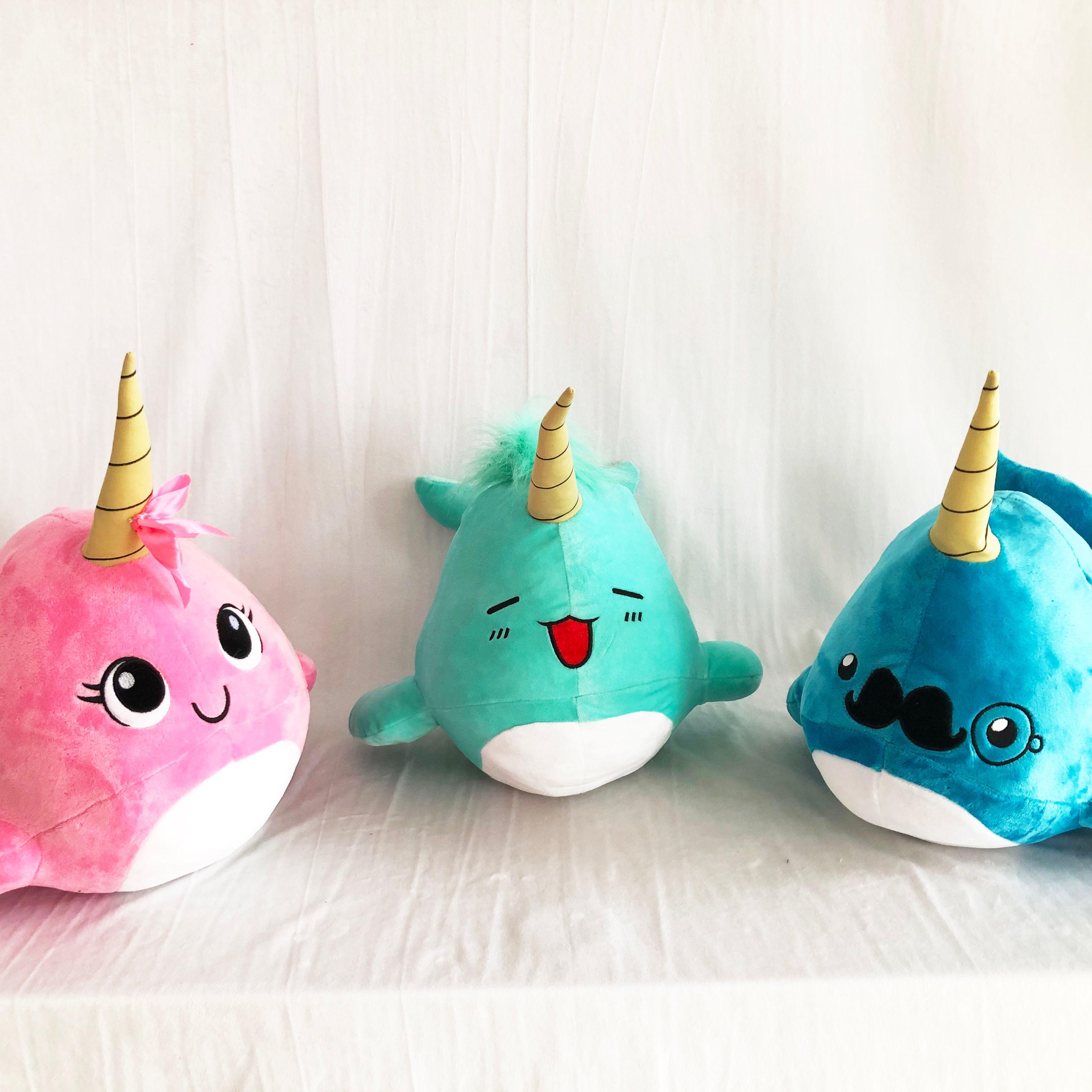 Hot Selling Unicorn Whale Tuba Plush Toy