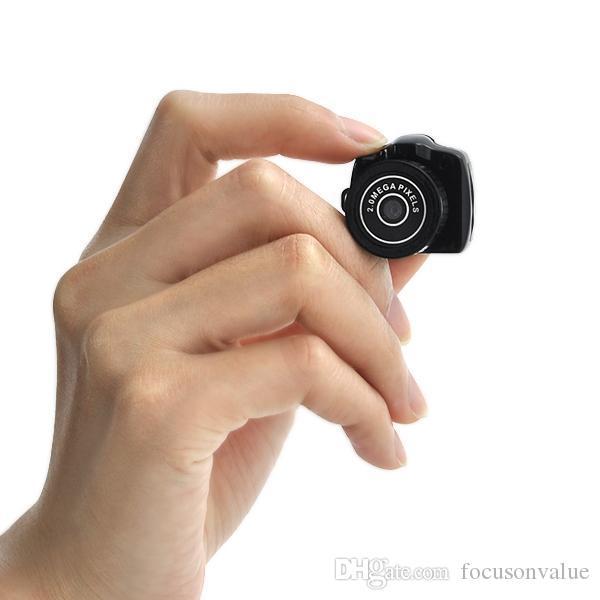 세계 미니 캠코더 블랙 미니 카메라 Y2000 HD 포켓 미니 DV 디지털 비디오 레코더 마이크로 캠 작은 카마라
