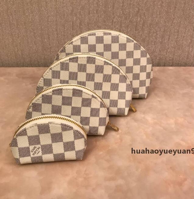 Женщины косметические сумки организатор известный бренд макияж сумка дизайнер дорожная сумка макияж сумка дамы cluch кошельки organizador туалетная сумка 4 шт. 68