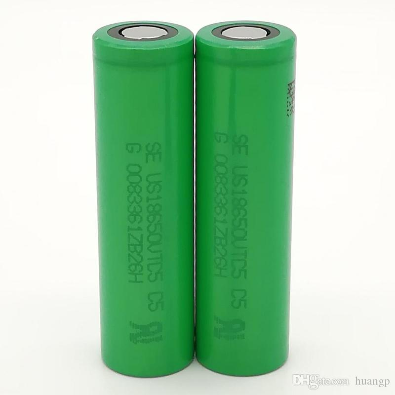 SONY VTC 5 18650 Battery 2500MAH 25A Rechargeable Lithuim Batteries PK  Fedex Ups For Ecig Mod Ecig Voltage Variable Voltage Ecig Mods From Huangp,