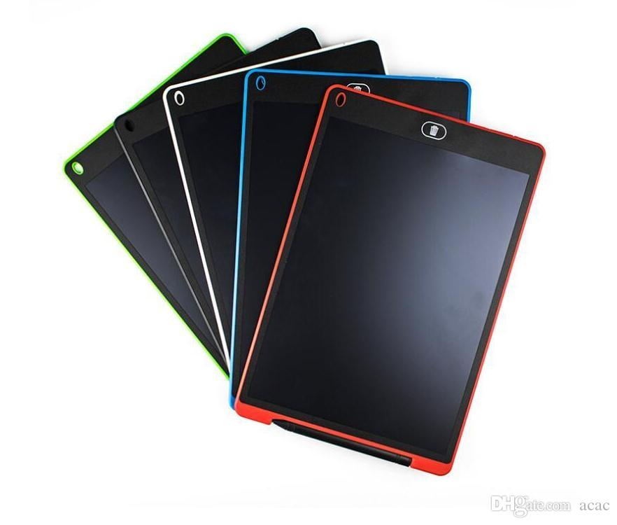 8.5 inç LCD Yazı Tablet El Yazısı Pad Dijital Çizim Kurulu Grafik Kağıtsız Not Defteri Desteği Ekran Temizle İşlevi 5 renk