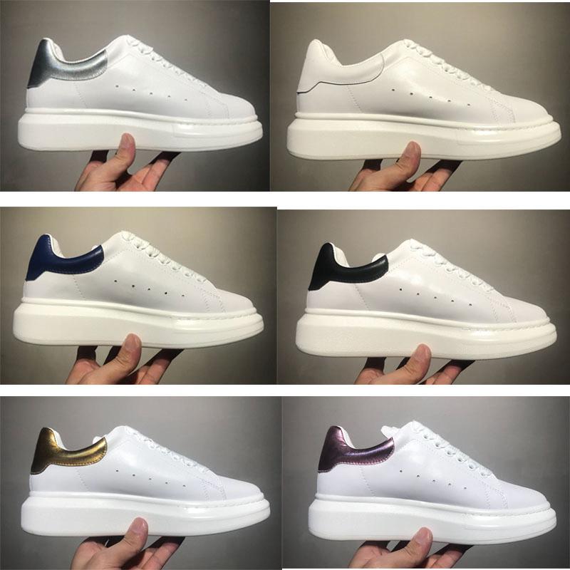 2019 delle donne degli uomini Chaussures Shoe Bella piattaforma Casual Sneakers Fashion Designers scarpe di cuoio di colori solidi Dress Shoef7aa #