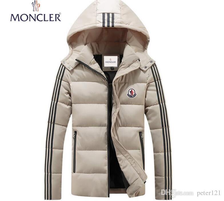 Großhandel Winter XXLrMoncler Jacke Herren Weiße Ente Daunenjacke Mit Pullover Schwarz Blau Doudoune Homme Hiver Marque Outwear Parka Mantel Von