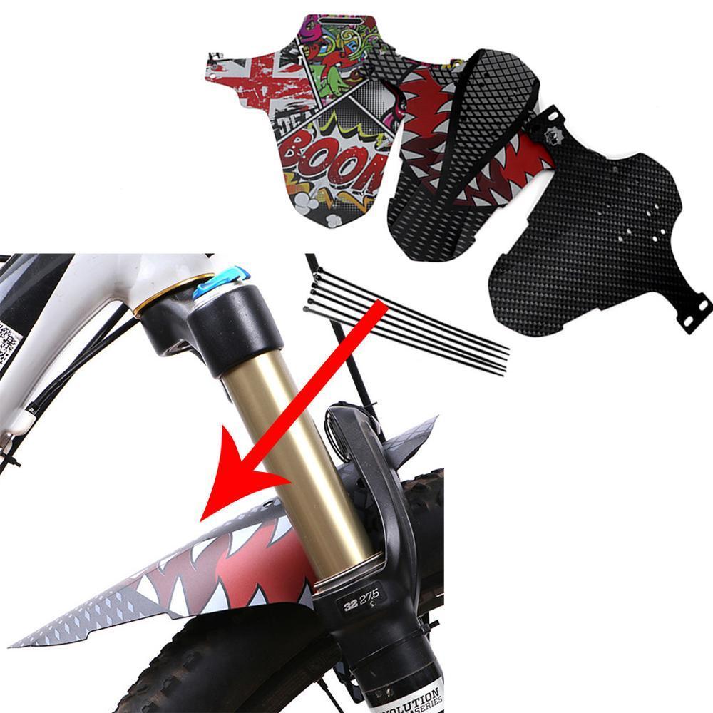 Durable Bicycle Bike Front Rear Sadddle Fender Mud Guard  MTB Bike Accessories