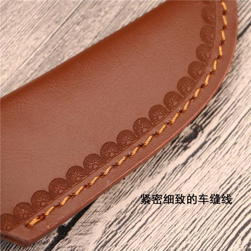 Lama esterna Guaina di copertura coltelli da caccia titolari Holster cinghia di cuoio attrezzi esterni