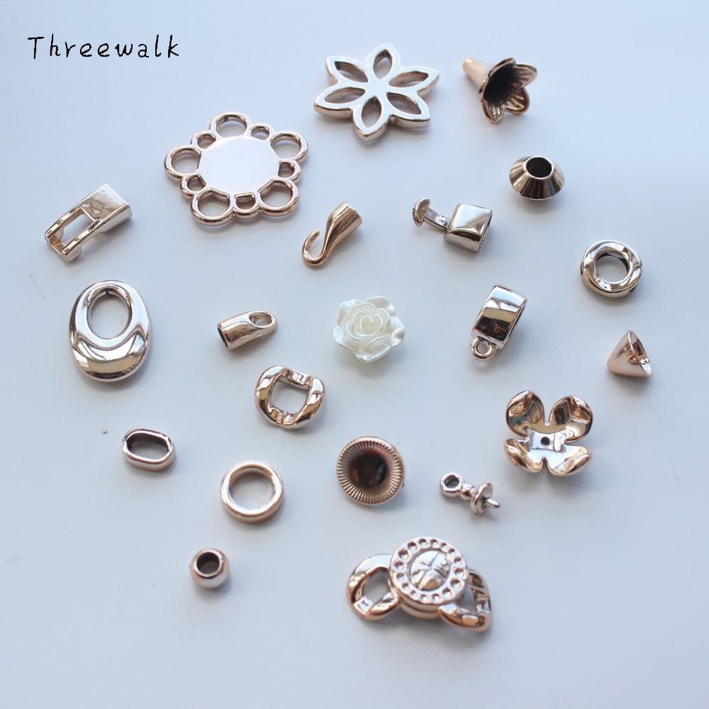 Wholesale Lots Screw Necklace End Tip Caps