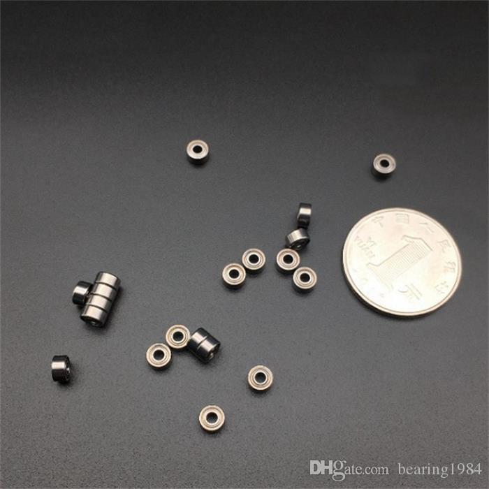 送料無料100ピース/ロットMR63ZZ MR63 MR63Z 3 * 6 * 2.5ミニチュアディープグルーブボールベアリングMR63-2Z 3×6×2.5 mmモデルベアリング