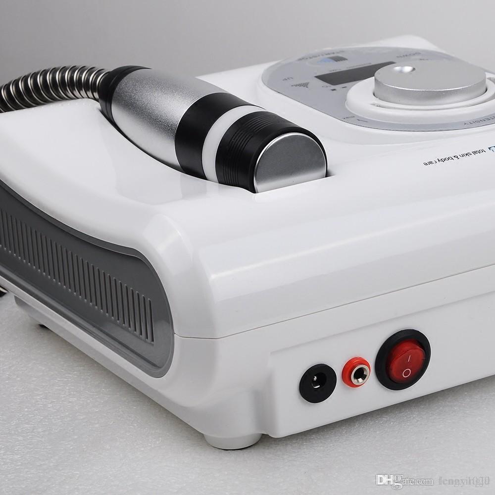 Sıcak Satış Taşınabilir 2 1 Cryo İğnesiz Elektroporasyon Mezoterapi Sıcak Soğuk Çekiç Skin serin Yüz Anti Aging Cilt Bakımı güzellik makine içinde
