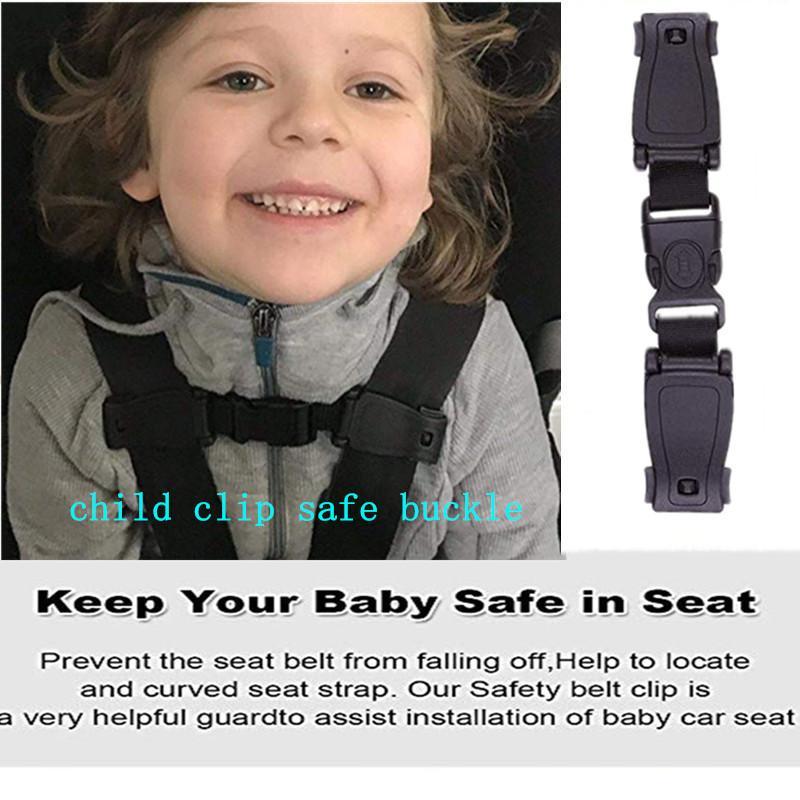 Child Toddler Safety Strap Chest Clip Car Seat Belts Kids Safe Lock Buckle