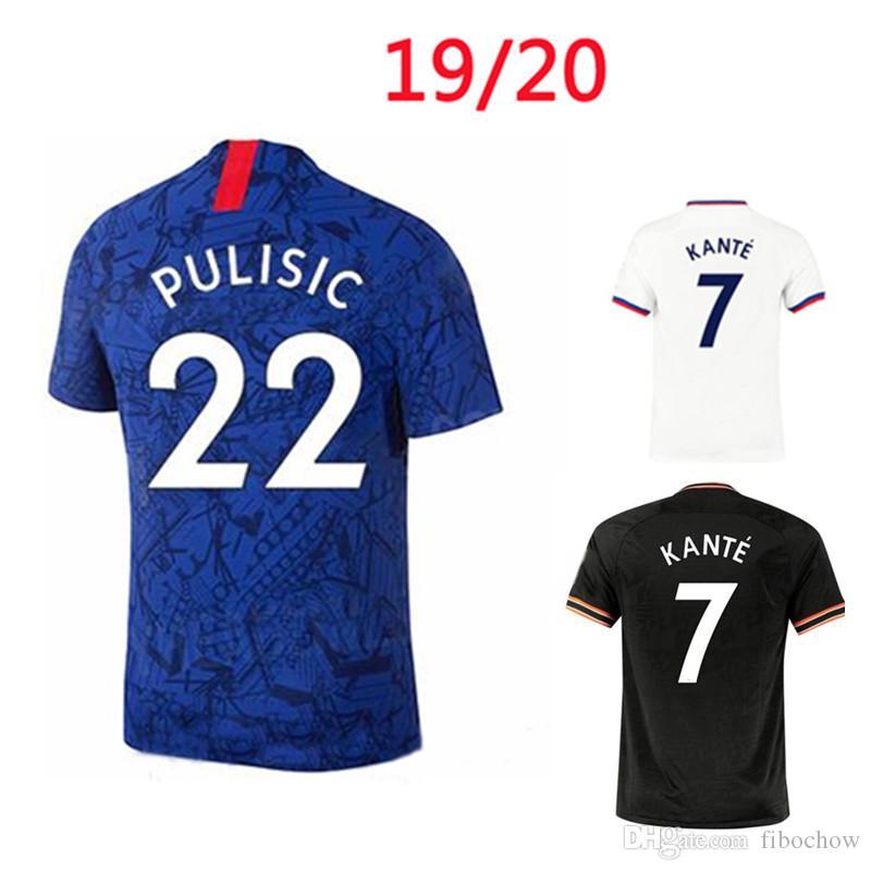 PULISIC Kanté İBRAHİM WILLAN PEDRO futbol forması ev uzakta 2019 2020 LOFTUS-YANAK # 12 GIROUD # 18 Jorginho Yeni Tay kaliteli futbol forması