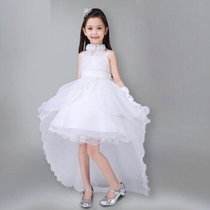 Princesse enfants Pageant Flower Girl Dress fête d'anniversaire de bal Mariages Robe enfants CG01
