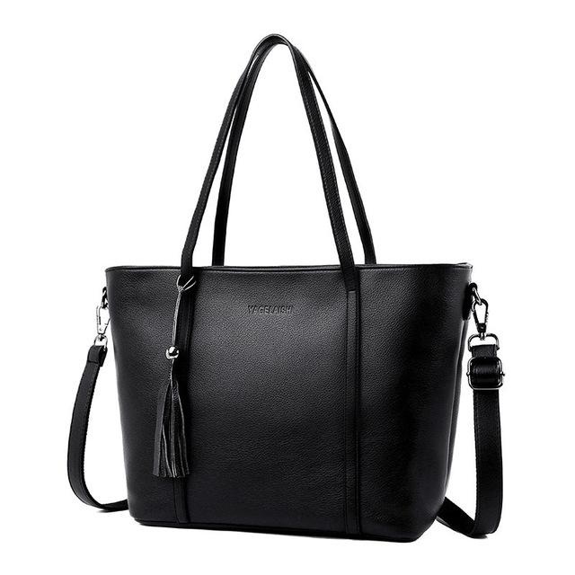 New women luxury handbags Minimalist cowhide women bags over shoulder tote bolso mujer crossbody bags for women bags A1