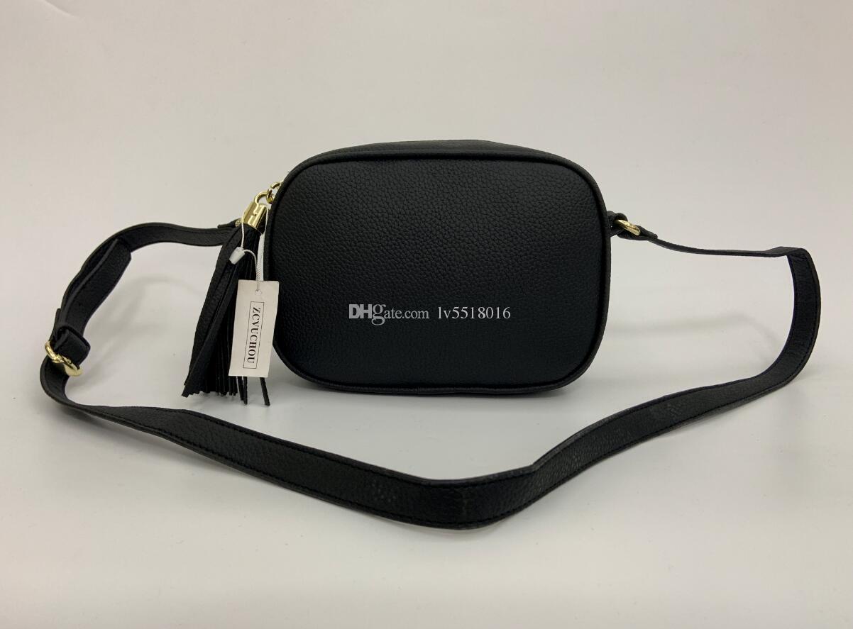 2019 Women Leather Soho Bag Disco Shoulder Bag Purse 1733 Serial number