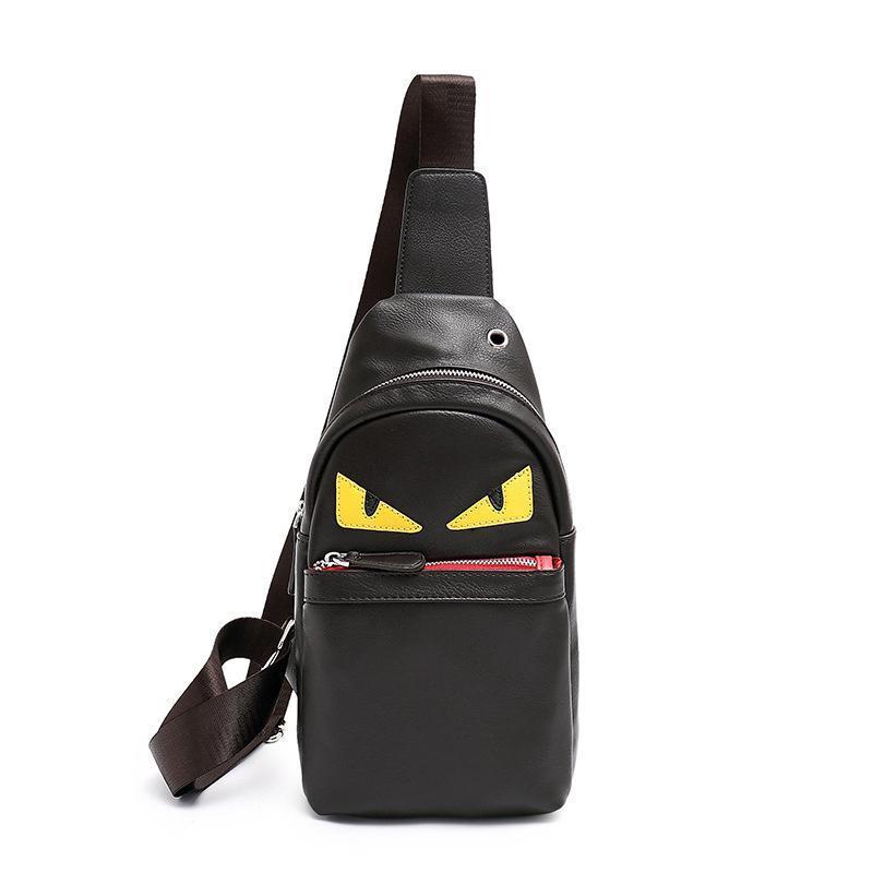 2019 новый дизайнер Crossbody сумки женщин мужчины Роскошные мешок плеча Мода маленький монстр сумка мальчик Креста тела мужской груди bag6cab #
