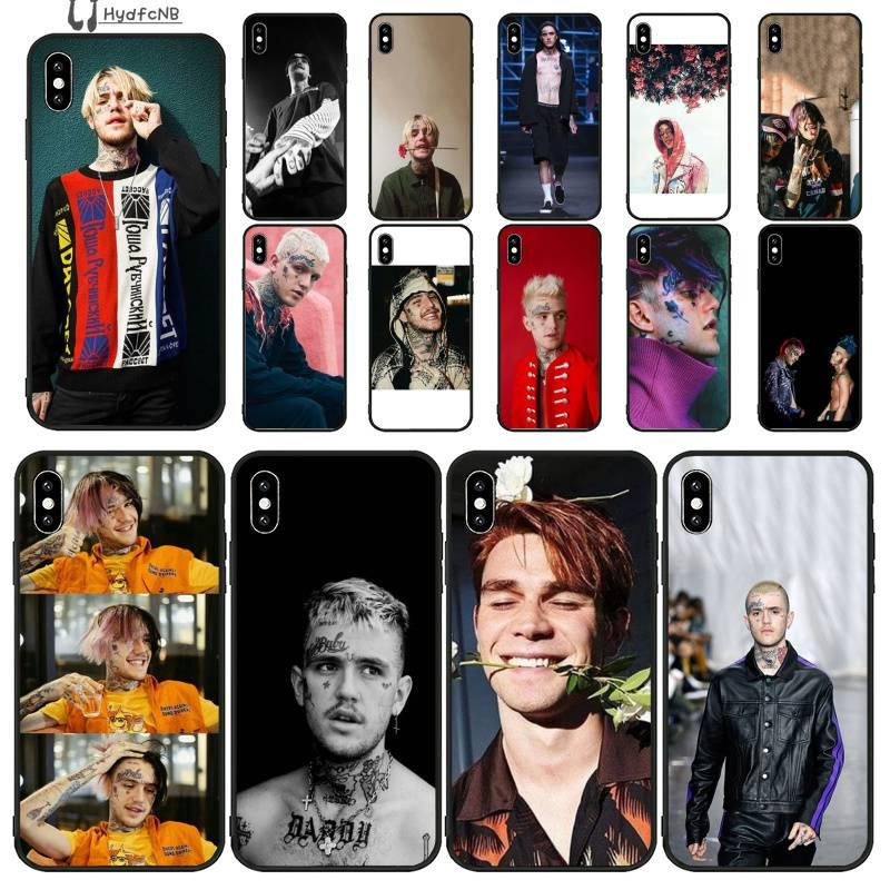 Rap chanteur Lil TPU silicone souple cas de téléphone pour iPhone 11 pro XS MAX 8 7 6 6S Plus X 5 SE XR 5S commerce de gros