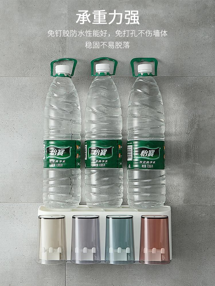 Pasta de dientes colgar de la pared de la caja de WC rack de almacenamiento Daquan Suministros para cosas Cepillo de dientes WC Lavabo Baño