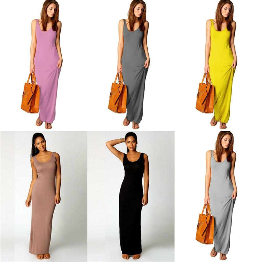 Tamaño atractivo de las mujeres vestidos de Maxi Plus Long Faldas Vestido ajustado de manga corta ropa de moda ocasional del verano Carta delgado libre del vestido 2828 # 351