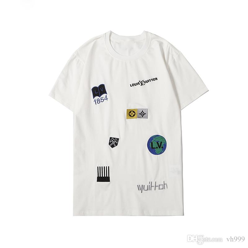 2020 concepteur Poloshirt mode Luxuriöse italien Marke Medusa T-shirts Herren Casual Baumwolle mit stickerei schlange Polos appliqueletter Top