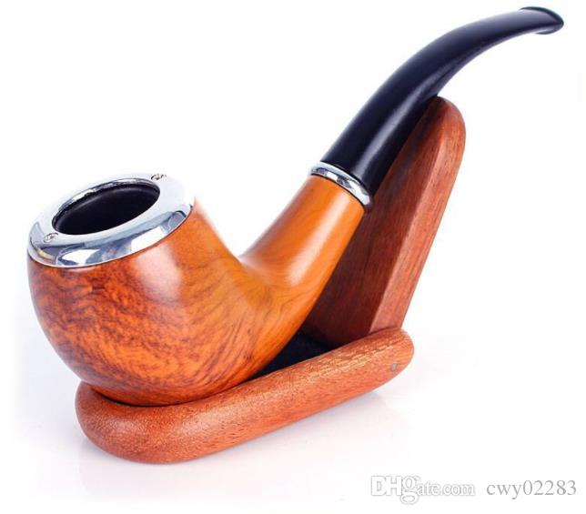 Europäische und amerikanische Harzpfeife Mode handgefertigte Rohr Spot Supply Imitation Mahagoni praktische Geschenk Rohr