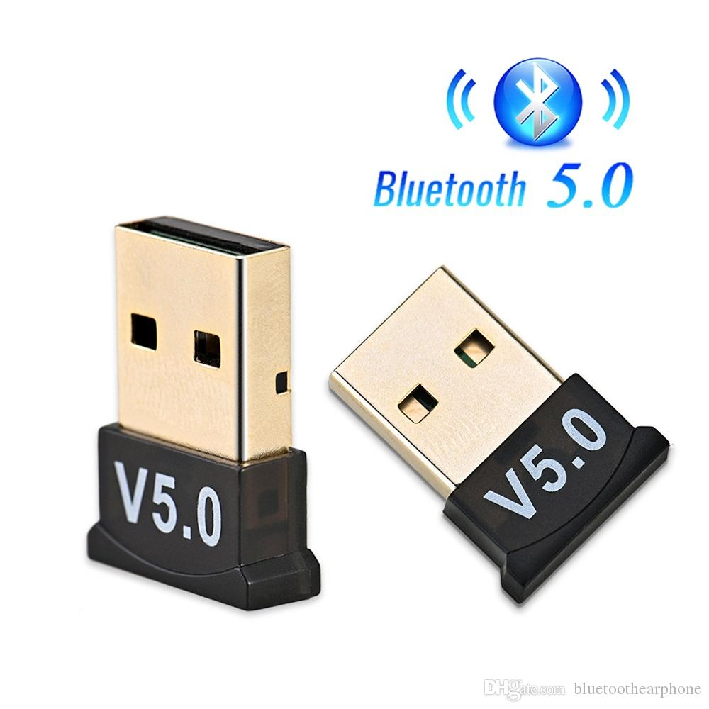 Bluetooth 5.0 usb dongle adaptador transmissor sem fio receptor de áudio Dongle Sender para Computador PC Notebook Laptop Bt V5.0 Wireless Mouse
