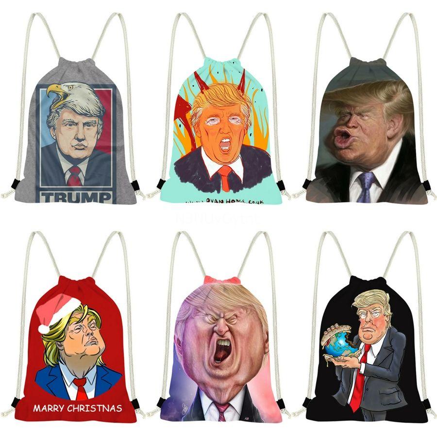 Arrvial envío Trump Trump Clásica hombro Mochila alta calidad del totalizador del bolso de mano del embrague Femenina # 346