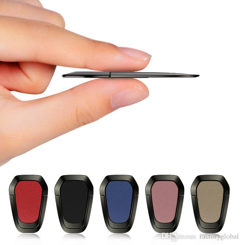 Nuovo 360 ° girevole in metallo ultra sottile anello di supporto del telefono cellulare anello di sostegno del telefono anello funzione magnetica