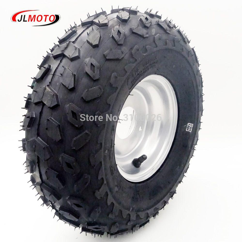 "145//70-6 Wheel Tire Rim 50cc 70cc 90cc 110cc ATV Quad  Go Kart Buggy Right 6/"""